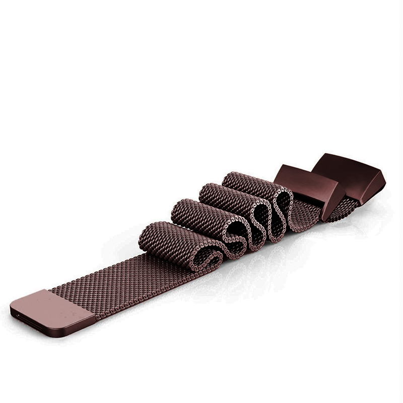 Bracelet-de-Montre-Intelligente-Bracelet-en-Acier-Inoxydab-le-Milanais-Fitn-M5U8 miniature 10