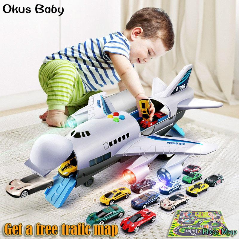 Music-Story-Simulation-Track-Inertia-Kinder-Spielzeugflugzeug-Large-Size-Pa-Y4N2 Indexbild 9
