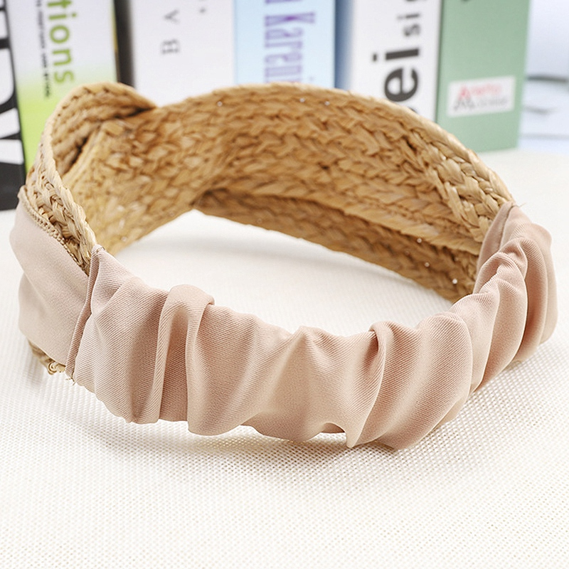 Bohemian-Vintage-Straw-Weaving-Headband-Hairband-Hair-Accessories-G6U2 thumbnail 10