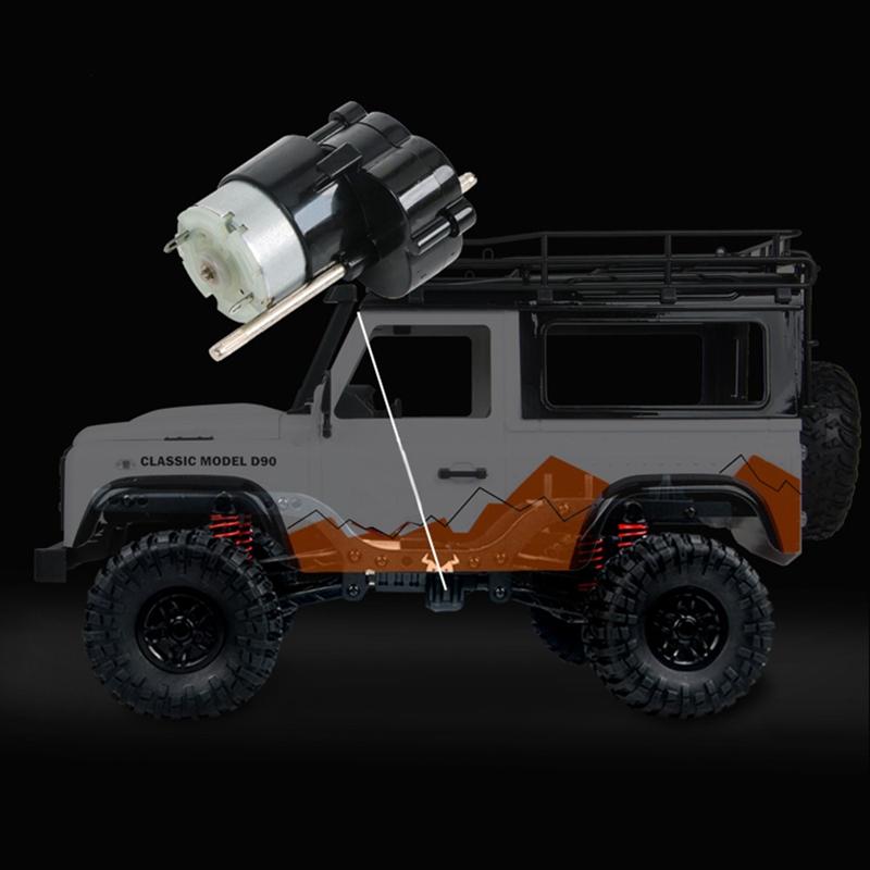 MN99-1-12-2-4G-4WD-RTR-Crawler-RC-Car-para-Land-Rover-70-Anniversary-Editio-J9V6 miniatura 7