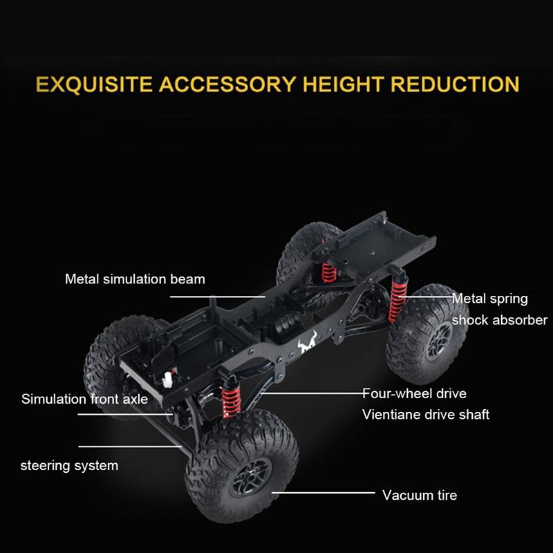 MN99-1-12-2-4G-4WD-RTR-Crawler-RC-Car-para-Land-Rover-70-Anniversary-Editio-J9V6 miniatura 9