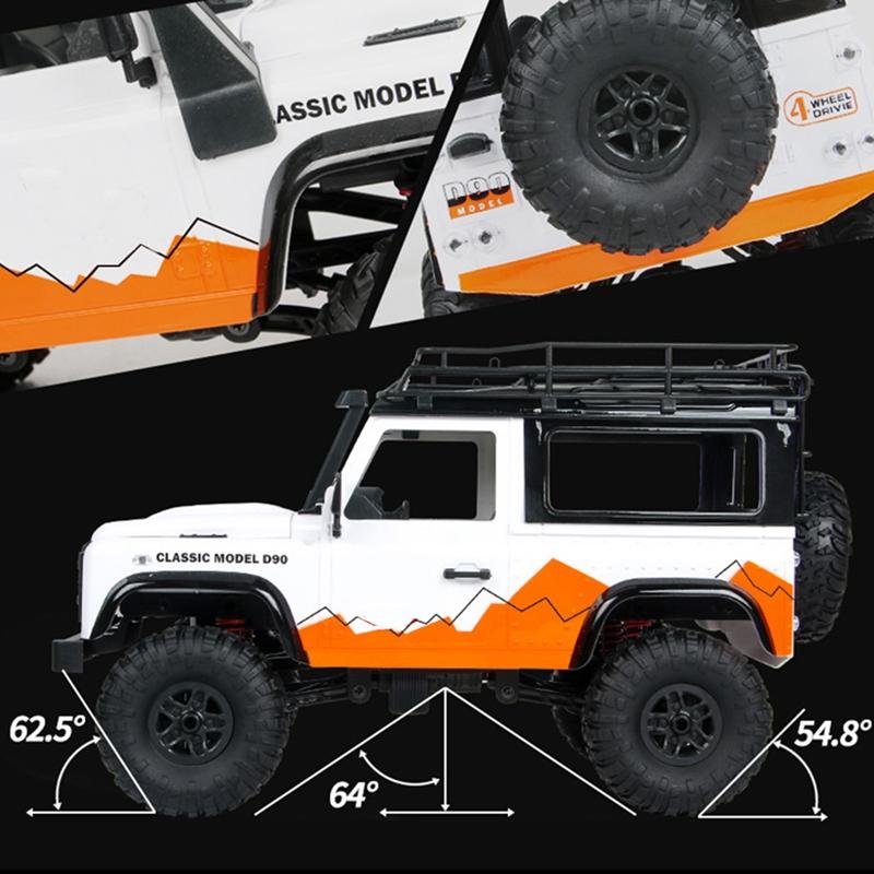 MN99-1-12-2-4G-4WD-RTR-Crawler-RC-Car-para-Land-Rover-70-Anniversary-Editio-J9V6 miniatura 21