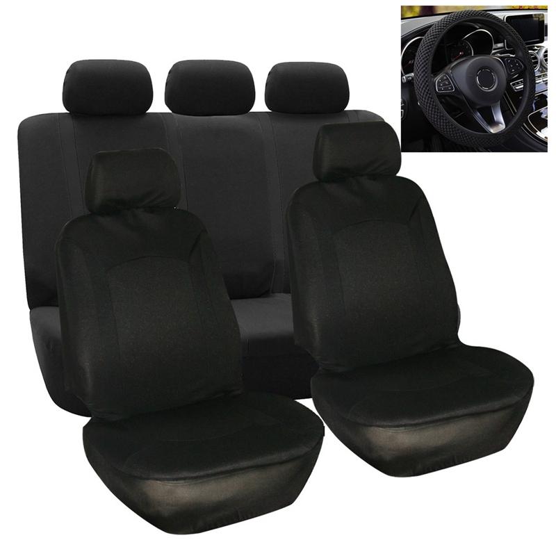 Universal-10-Teile-Satz-Auto-Sitz-Bezug-Protector-Schutz-Sitz-Bezug-fuer-A-K5O7 Indexbild 12