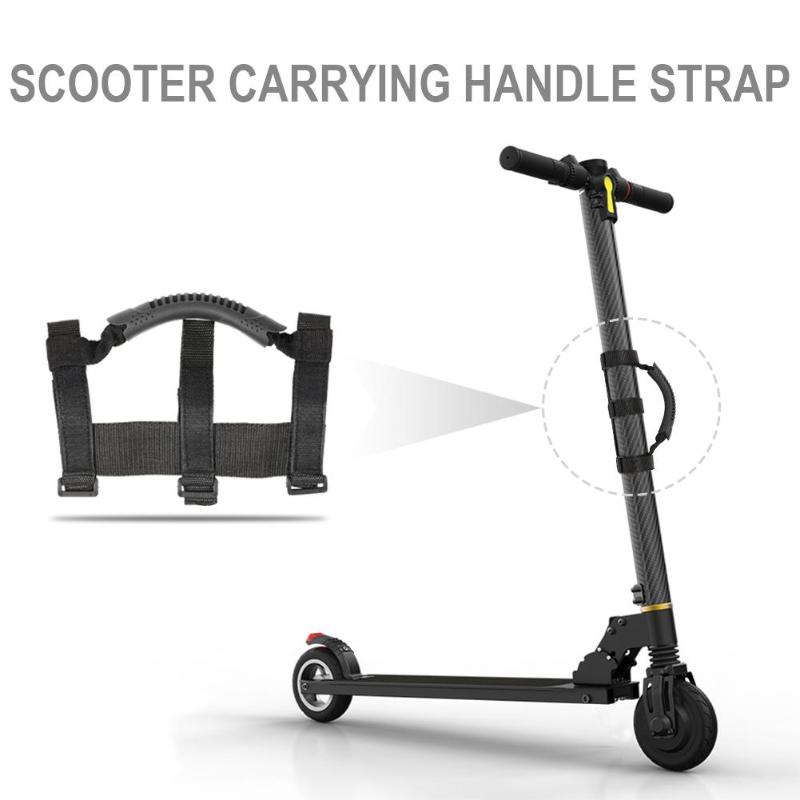Portable-Electric-Scooter-Hand-Carrying-Handle-Strap-Scooter-Accessories-fo-P2R3 thumbnail 4