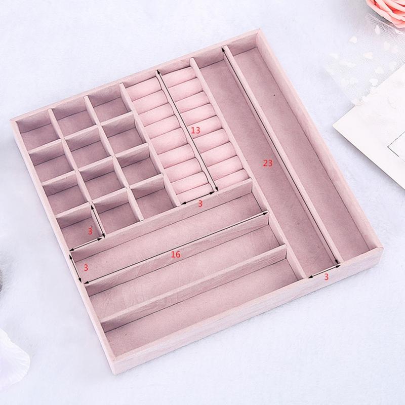 Caja-de-JoyeriA-PortaTil-de-MuLtiples-Capas-de-Cuero-de-Gran-Capacidad-Orga-Z9V4 miniatura 4