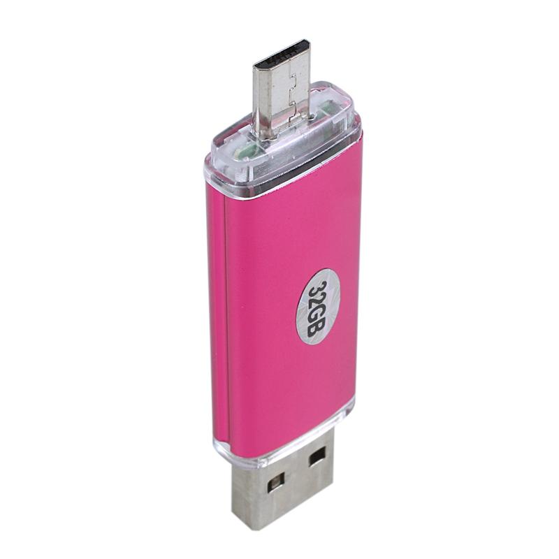 Memoria-32GB-USB-Unidad-OTG-mini-USB-Unidad-de-flash-para-ordenador-port-F1W8 miniatura 16