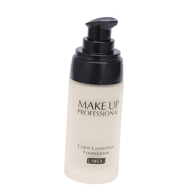 miniatuur 6 - LAIKOU Whitening Flawless Coverage Fulid Liquid Foundation Concealer Moistu U1O2