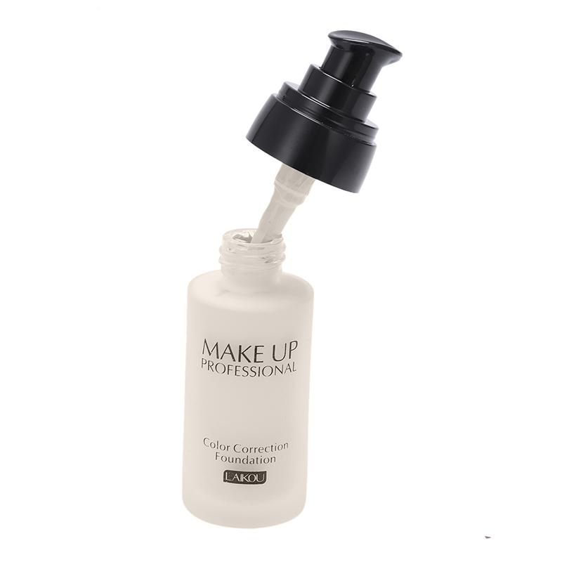 miniatuur 7 - LAIKOU Whitening Flawless Coverage Fulid Liquid Foundation Concealer Moistu U1O2