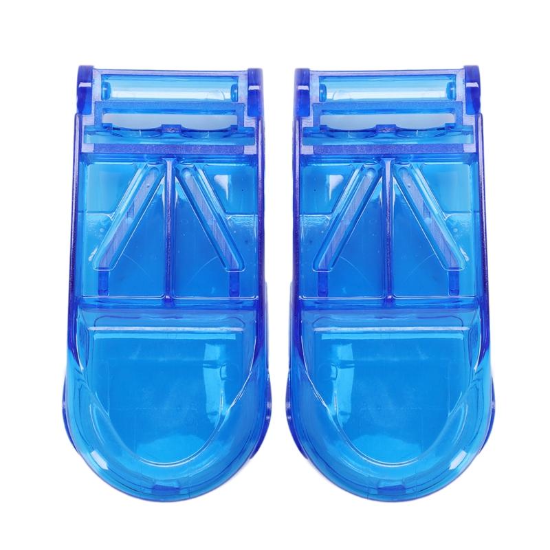 2-Pcs-Mini-Utile-Boite-De-Rangement-Portable-Medecine-Porte-Pilule-Tablet-C-X2R3 miniature 2