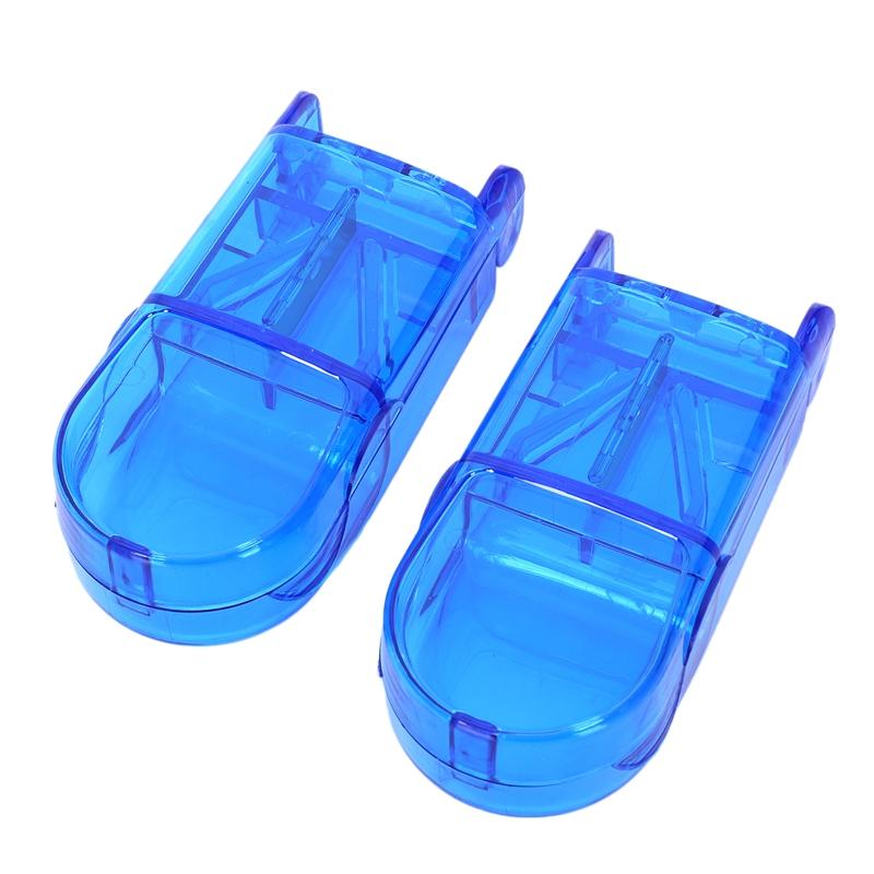 2-Pcs-Mini-Utile-Boite-De-Rangement-Portable-Medecine-Porte-Pilule-Tablet-C-X2R3 miniature 3