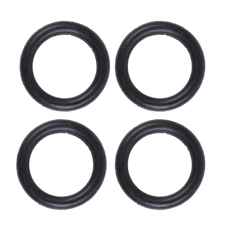 Beauneo 10 Stueck Schwarz Gummi Oil Seal O-Ringe Dichtungen Unterlegscheiben 16x11x2.5mm