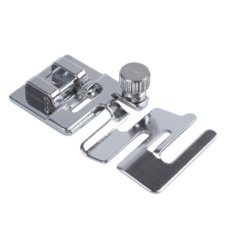 1pz Pie de dobladillo rodado de maquina de coser domestica para Brother Toy C8K3