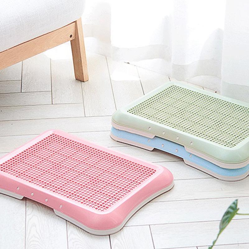 Plastic-Pet-Dog-Detachable-Indoor-Toilet-Training-Pad-Toilet-Box-Tray-for-D-A4T5 thumbnail 3