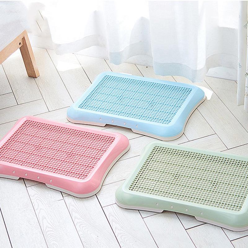 Plastic-Pet-Dog-Detachable-Indoor-Toilet-Training-Pad-Toilet-Box-Tray-for-D-A4T5 thumbnail 6