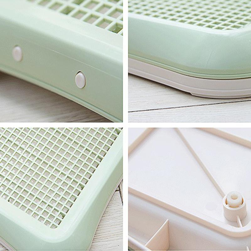 Plastic-Pet-Dog-Detachable-Indoor-Toilet-Training-Pad-Toilet-Box-Tray-for-D-A4T5 thumbnail 8