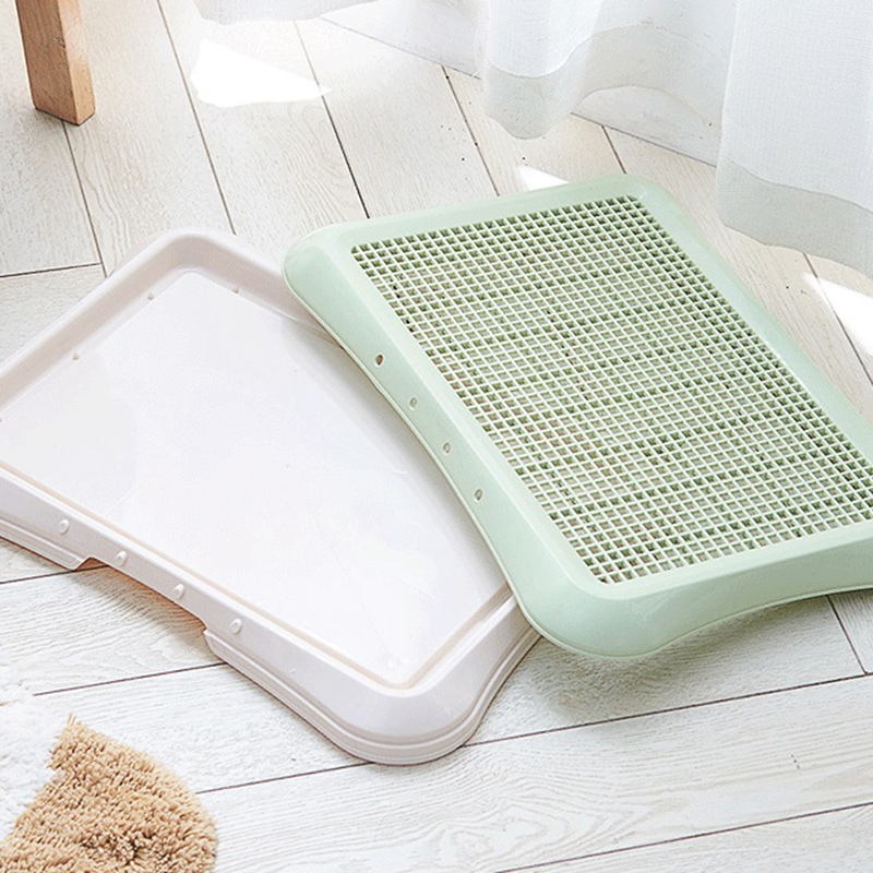 Plastic-Pet-Dog-Detachable-Indoor-Toilet-Training-Pad-Toilet-Box-Tray-for-D-A4T5 thumbnail 11