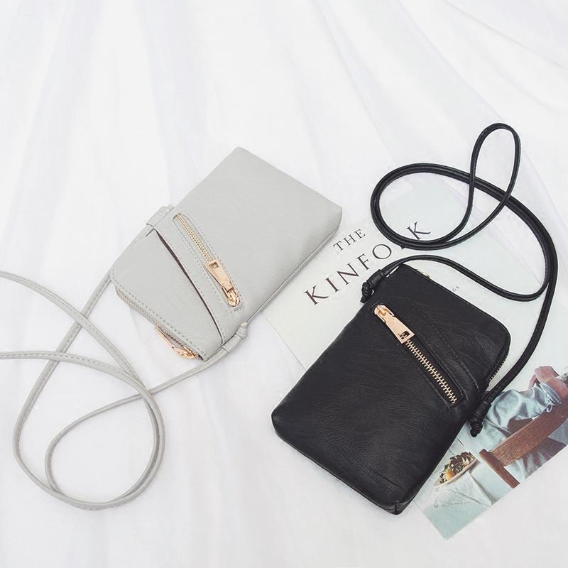 Détails sur Mini Sac à Main Simple en Cuir PU Messenger Bag Dames Sac à BandoulièRe Bou X1O1