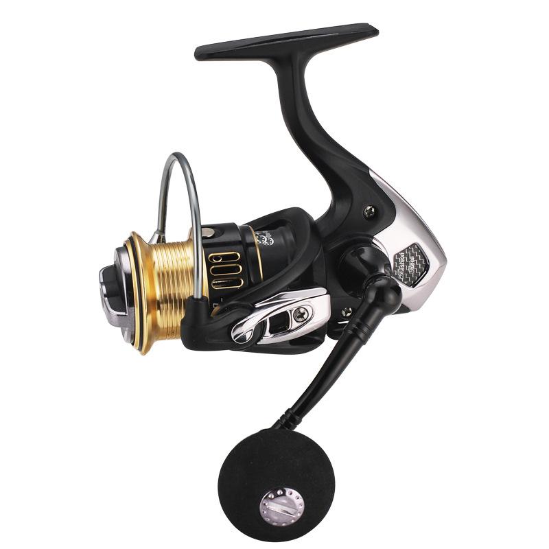 Series MH13 10+1BB Aluminum Spool  Power Gear Ratio 5.1:1 Spinning Fishing Reel