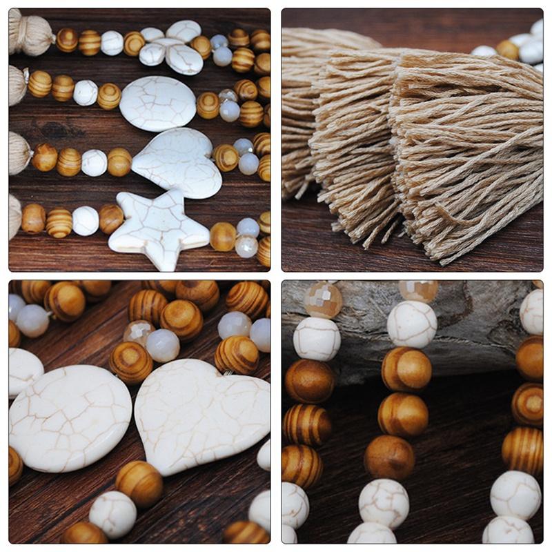 1X-Nuevo-Collar-de-JoyeriA-de-Piedra-Hecha-a-Mano-Collar-de-Borla-de-Piedra-G2M1 miniatura 20
