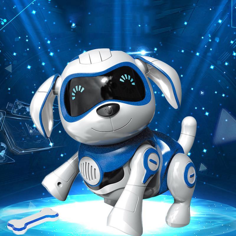 Détails Sur Robot Chien électronique Jouets Pour Animaux Sans Fil Robot Chiot Capteur I T7u7