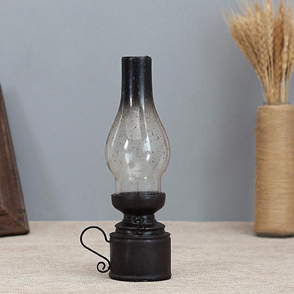 Retro-Vintage-Kerosene-Lamp-Candlestick-Resin-Crafts-Ornaments-Household-Li-E3F4 thumbnail 9