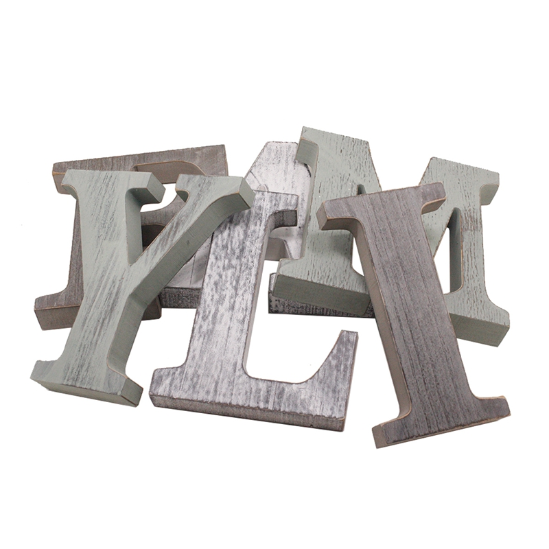 1X-034-Family-034-Decorative-Wooden-Letters-Large-Wood-for-Wall-Decor-in-Rustic-WY1N8 thumbnail 3
