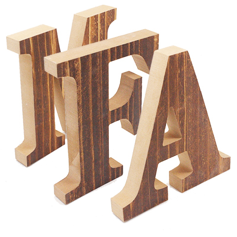 1X-034-Family-034-Decorative-Wooden-Letters-Large-Wood-for-Wall-Decor-in-Rustic-WY1N8 thumbnail 13