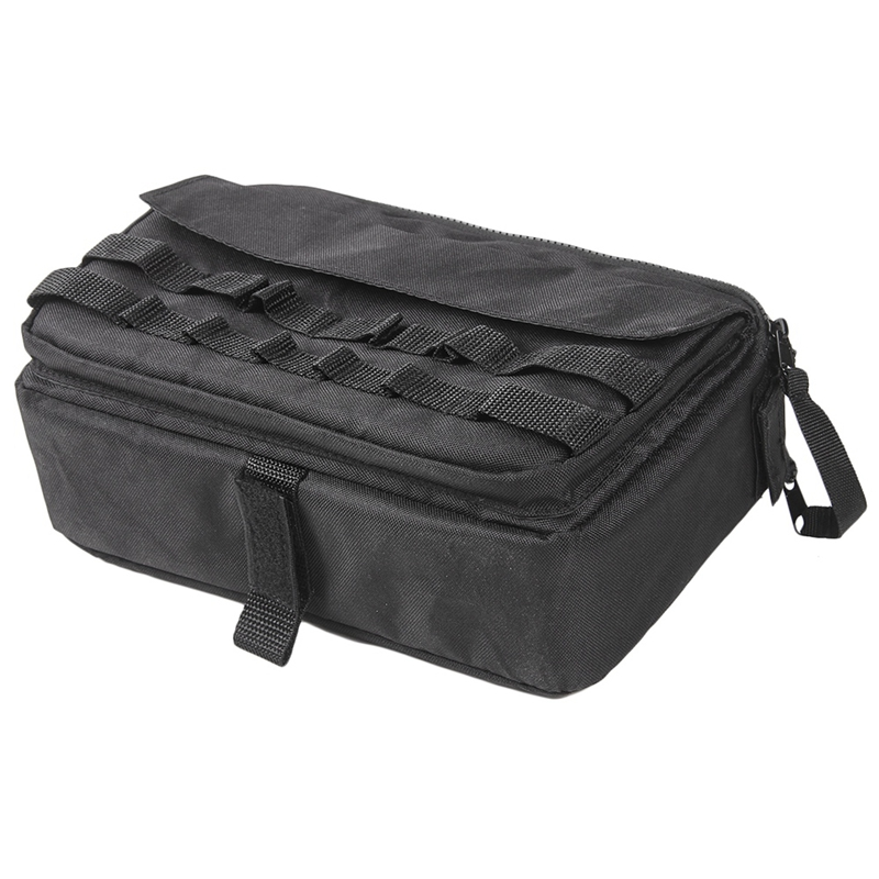 Auto-Werkzeug-Kit-Organisator-Taschen-Aufbewahrung-Tasche-Fit-fuer-Jeep-Wran-T7B8 Indexbild 2