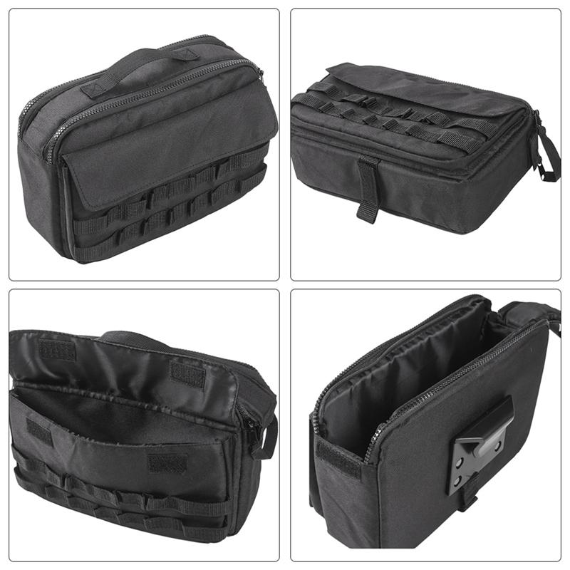 Auto-Werkzeug-Kit-Organisator-Taschen-Aufbewahrung-Tasche-Fit-fuer-Jeep-Wran-T7B8 Indexbild 5