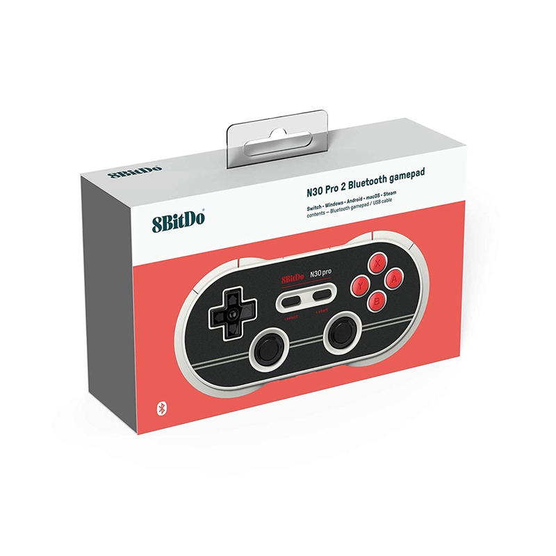 8Bitdo-N30-Pro2-Bluetooth-Gamepad-Wireless-Controller-Vibration-Wired-JoystK5A9 thumbnail 10