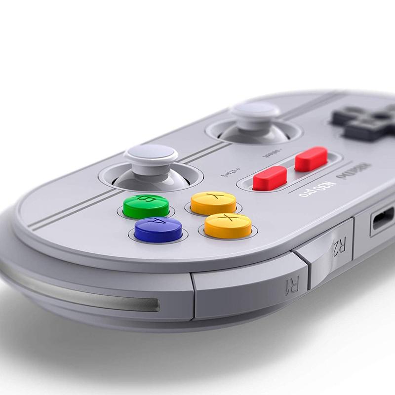 8Bitdo-N30-Pro2-Bluetooth-Gamepad-Wireless-Controller-Vibration-Wired-Joyst-X6N6 thumbnail 4