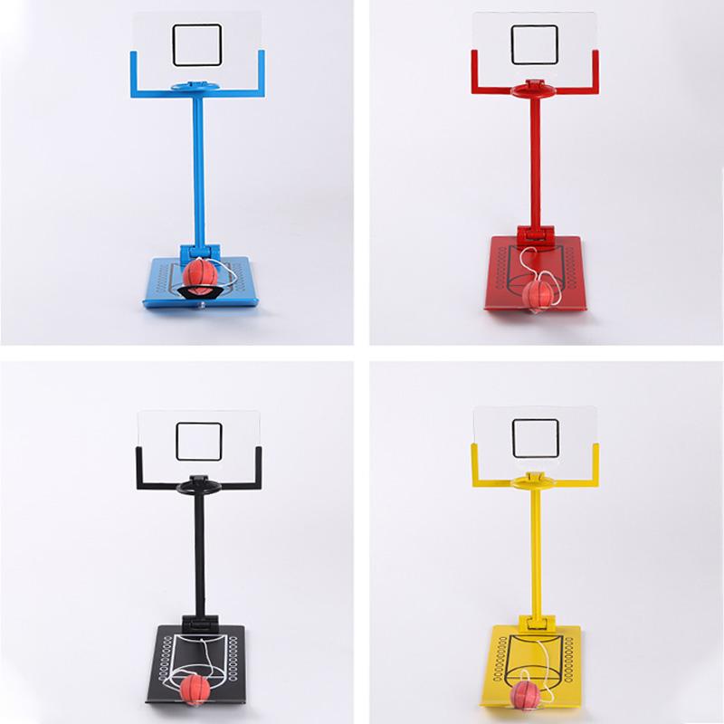 Juguete-de-Alivio-de-EstreS-Mini-Juego-de-Baloncesto-Plegable-Mesa-de-Escri-Y2M8 miniatura 5
