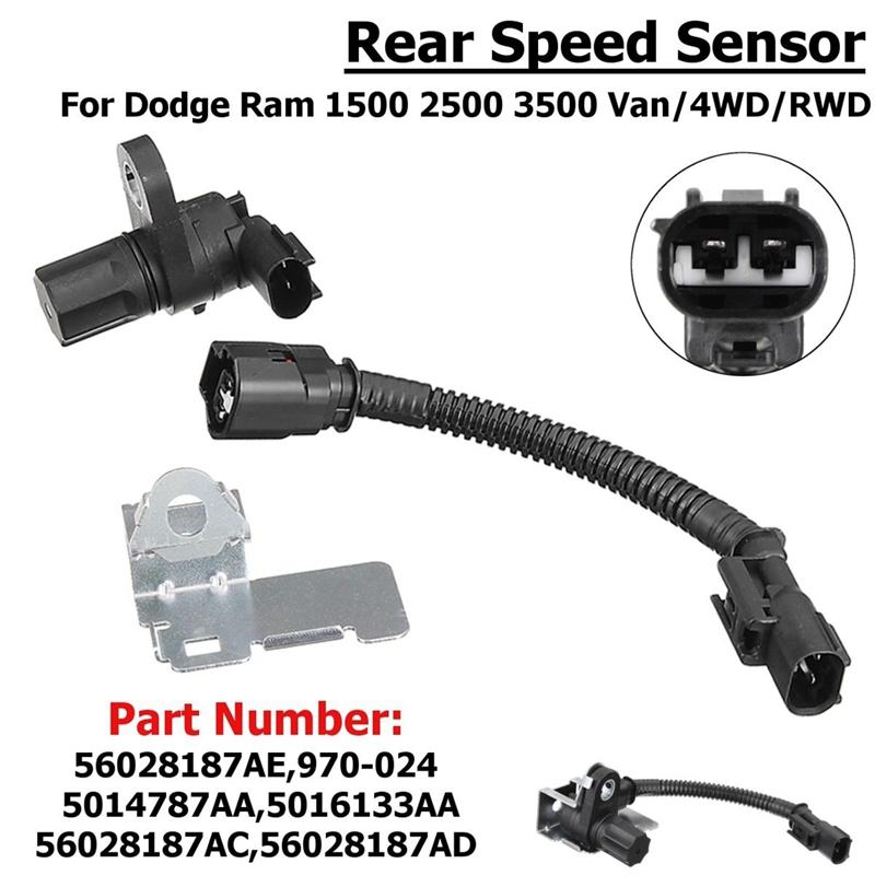 Auto ABS Rad Geschwindigkeitssensor 5014787AA Passt für Dodge Ram Dakota Durango