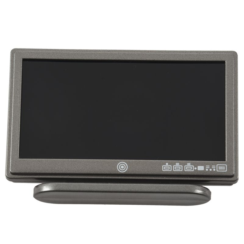 1X-Dollhouse-Miniature-Widescreen-Flat-Panel-LCD-TV-with-Remote-Gray-K5V7 thumbnail 5
