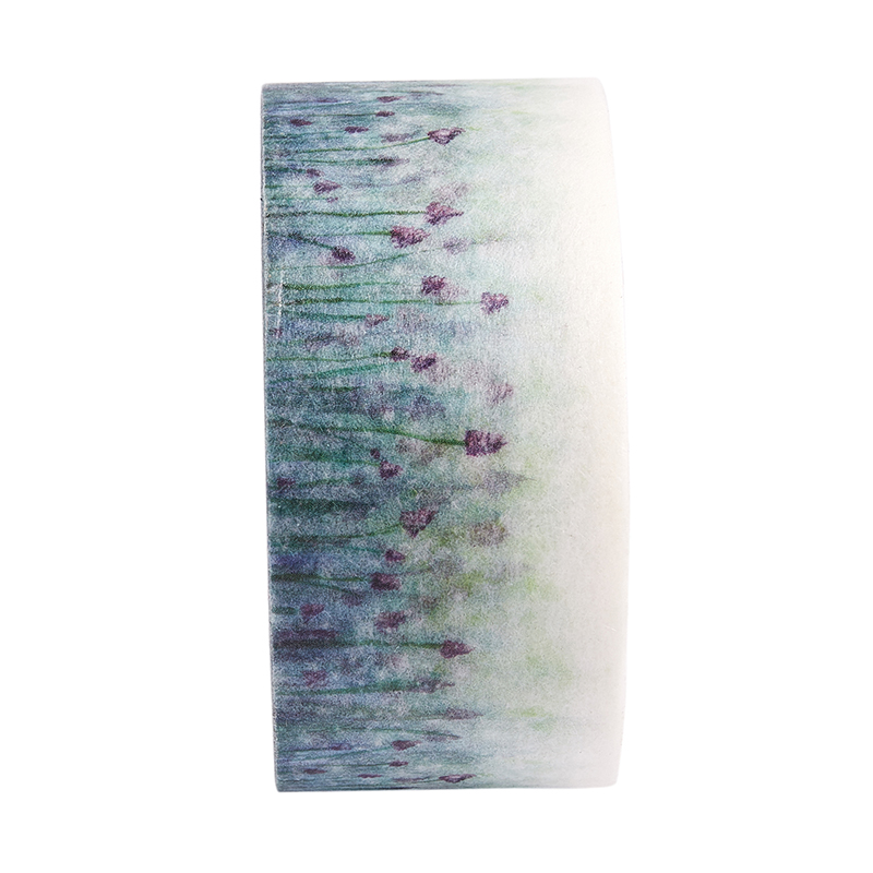 10M-Flor-Washi-Cinta-Decorativa-Auto-Adhesivas-Arte-Papel-Pegajoso-Bricolaj-A6U8 miniatura 4