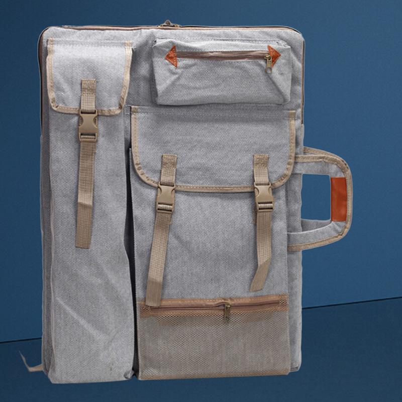 Portafolio-de-Arte-Bolso-Estuche-Mochila-Tablero-de-Dibujo-Bolso-de-Hombro-K4Y5 miniatura 11