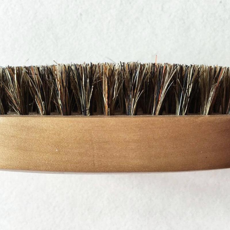 2X-2Pcs-Poil-de-Sanglier-Poil-Dur-Bois-Manche-en-Bois-Barbe-Moustache-Pince-R4A2 miniature 4