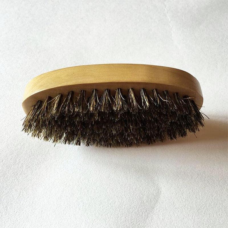 2X-2Pcs-Poil-de-Sanglier-Poil-Dur-Bois-Manche-en-Bois-Barbe-Moustache-Pince-R4A2 miniature 5