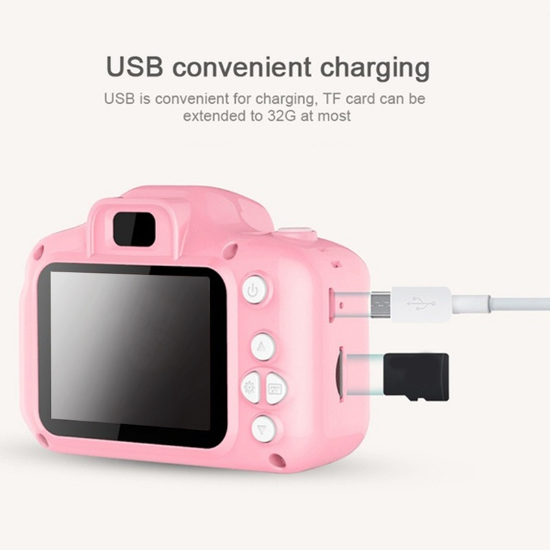 2X-Dc500-Full-Color-Mini-Digital-Camera-for-Children-Kids-Baby-Cute-Camcord-S8P1 thumbnail 5