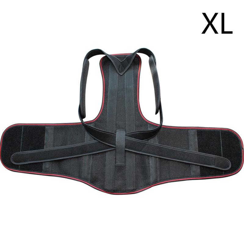 1X-1Pcs-Confort-Posture-Correcteur-Soutien-de-Dos-Dorsal-AmeLiorer-la-W4C8 miniature 3