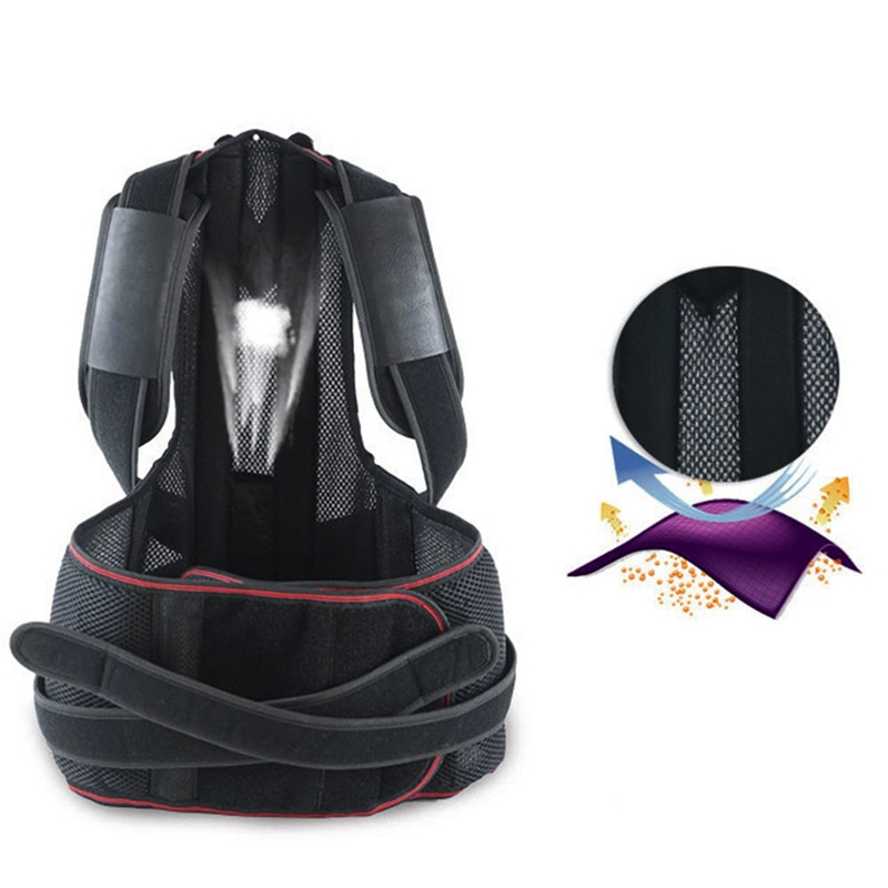 1X-1Pcs-Confort-Posture-Correcteur-Soutien-de-Dos-Dorsal-AmeLiorer-la-W4C8 miniature 6