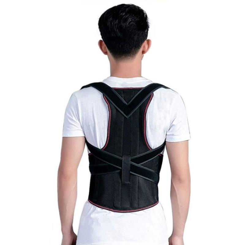 1X-1Pcs-Confort-Posture-Correcteur-Soutien-de-Dos-Dorsal-AmeLiorer-la-W4C8 miniature 10