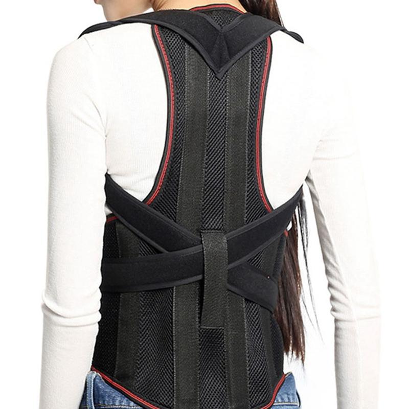1X-1Pcs-Confort-Posture-Correcteur-Soutien-de-Dos-Dorsal-AmeLiorer-la-W4C8 miniature 11