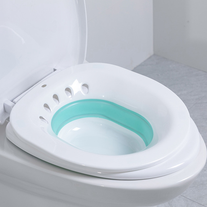 1X-Folding-Woman-Bidet-Sauna-Hip-Irrigator-Perineum-Soaking-Bath-Pregnant-BR4E9 thumbnail 11
