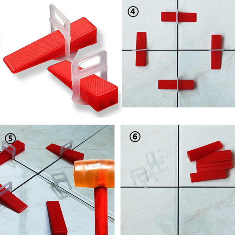 2Mm-Level-Floor-Cross-Spacers-Tiles-Tools-Tile-Leveling-System-200Pcs-F3G6 thumbnail 6