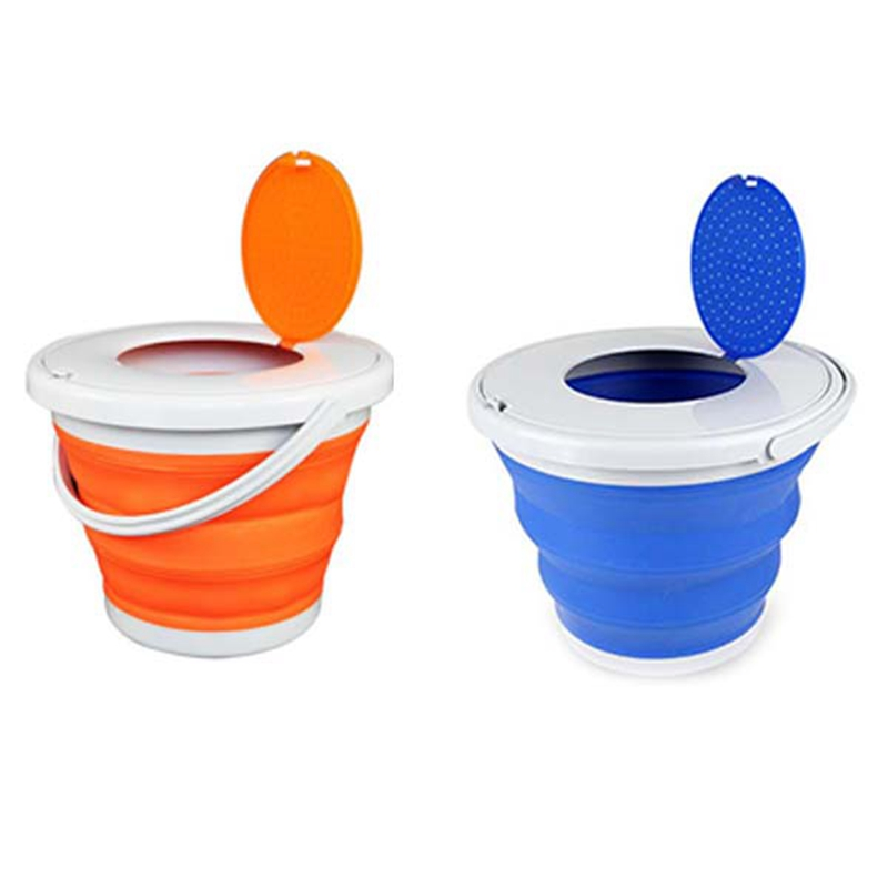 Portable-Folding-Bucket-Foldable-Basin-Tourism-Outdoor-Folding-Bucket-with-X5Y1 thumbnail 4