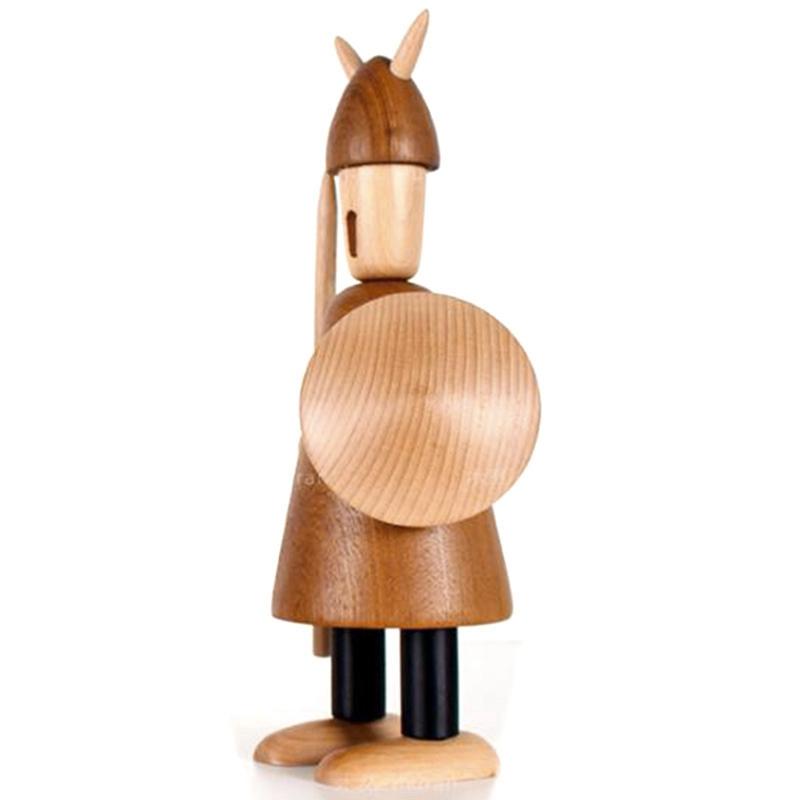 Nordic Wood Tallado Vikingos Vikingos Decoraciones para el Hogar Decoracion V2U6 5