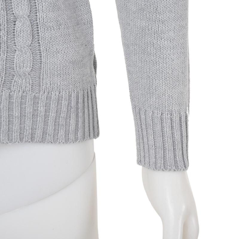 Printing-Mode-Tan-True-wool-coat-men-cotton-wool-sweater-cardigan-free-man-R7B5 thumbnail 20