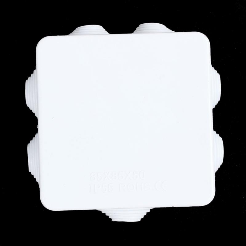 Naliovker bs Scatola Di Giunzione Quadrata Impermeabile Ip55 Pressa Liscia Sul Coperchio 85X85X50Mm