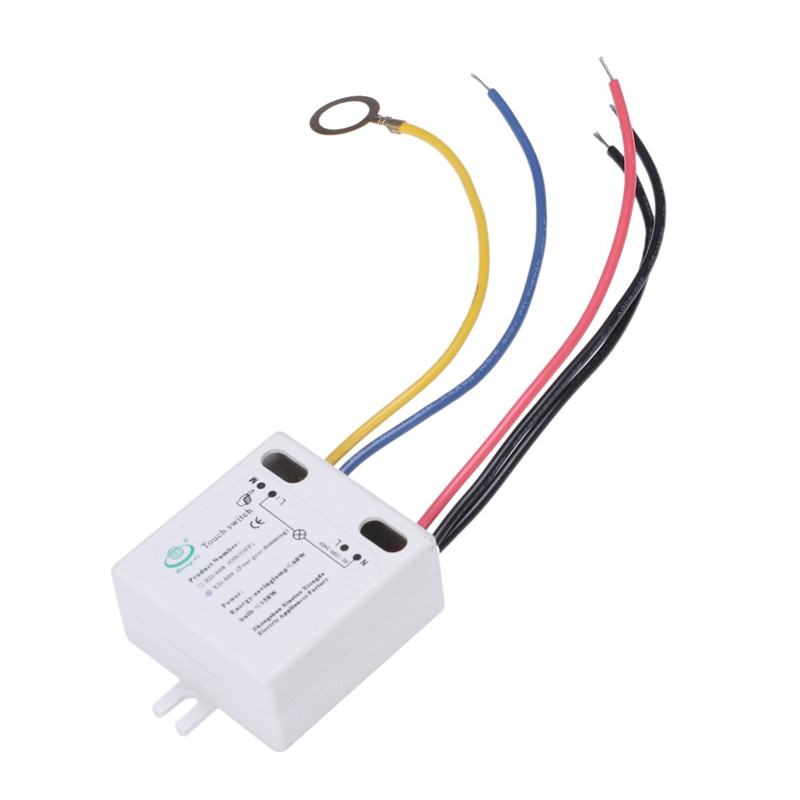 Détails Sur Xiongda Xd 609 4 Mode Interrupteur Marche Arret Tactile Pour 220v Lampe Au 3m